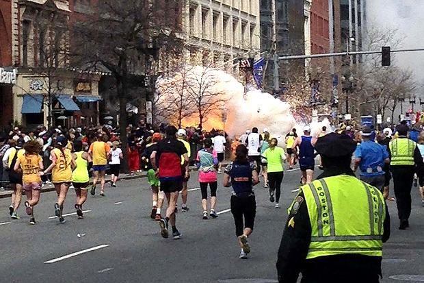 Boston bomb blast