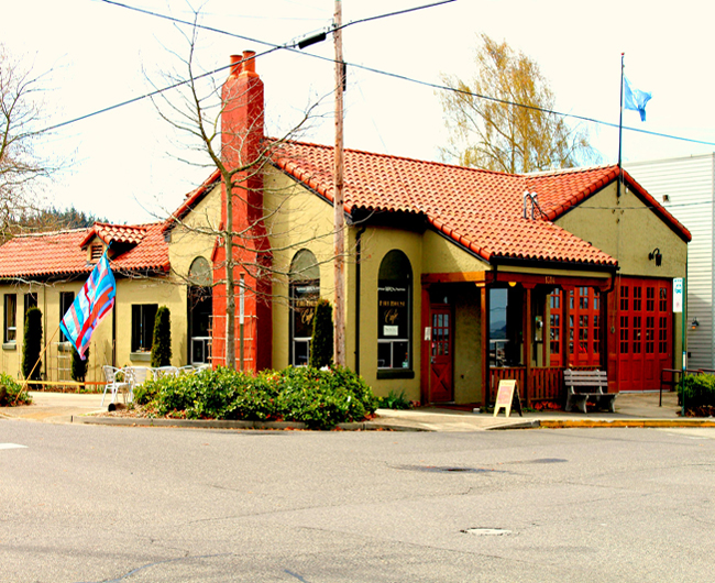 The Firehouse Performing Arts Centre, Bellingham, Washington, where the enclave was held.