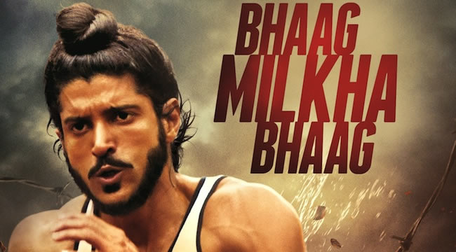 Frahan Akhtar who plays Milkha Singh in Bhaag Milkha Bhaag