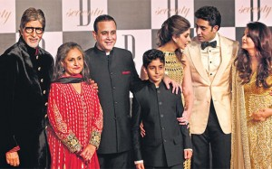 Jaya with her family