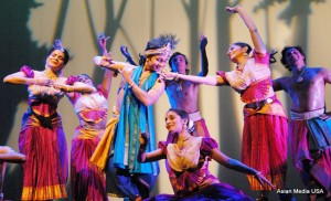 Krishna - dallying with gopis