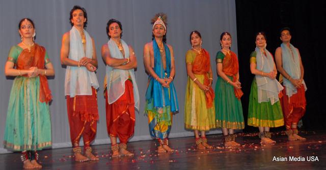Krishna - troupe