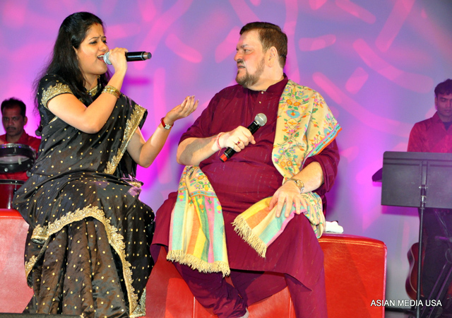 Manasi Paranjape (Playback singer) and Nitin Mukesh (Playback singer and illustrious son of a legendary father Mukesh)