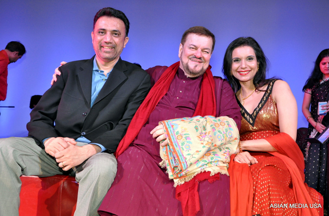 Madan Kulkarni (founder of Dhrishti), Nitin Mukesh (Playback singer and illustrious son of a legendary father Mukesh) and Shebani Kulkarni (the co-founder of Dhrishti