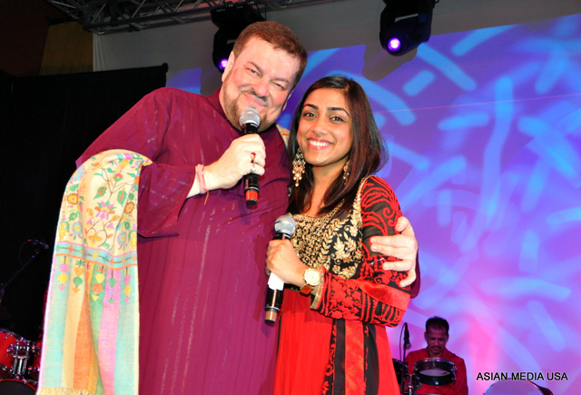 Nitin Mukesh (Playback singer and illustrious son of a legendary father Mukesh) and Sajni Ganger (Mayur Ganger daughter,  American Born, singer)
