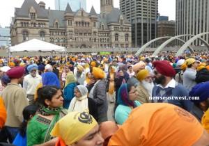 Sikhs at Toronto Vaisakhi parade