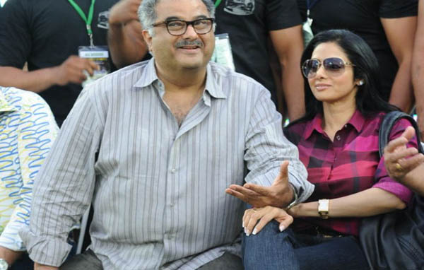 Sridevi Boney Kapoor Latest Stills Photos