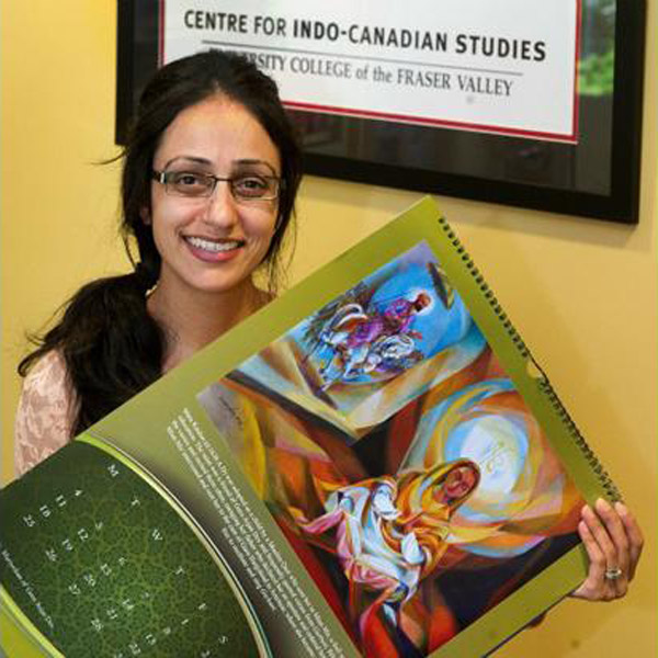 Sharanjit Kaur Sandhra, co-ordinator of the Centre for Indo Canadian Studies at the University of the Fraser Valley.