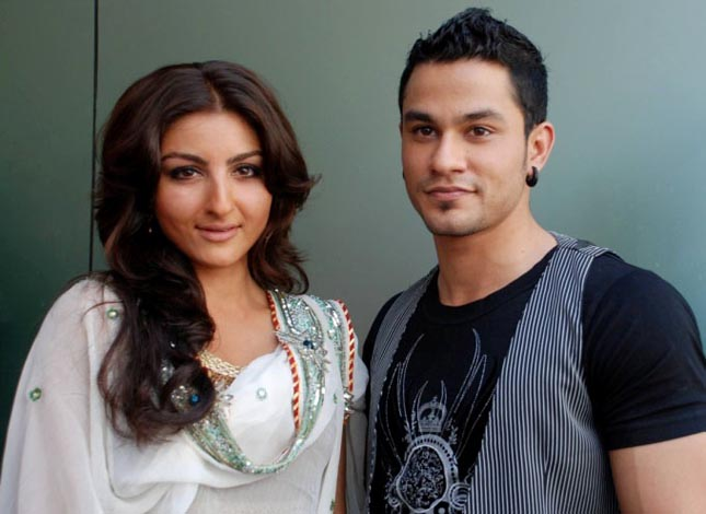 Soha Ali Khan-with Kunal Khemu