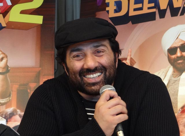 Sunny Deol said that he was grooming his son to enter into the world of acting.