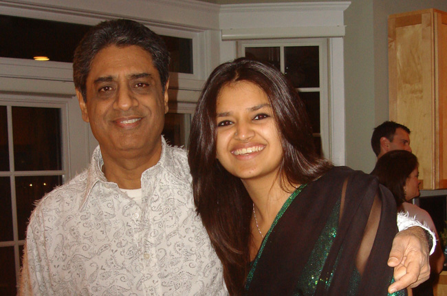 Tara Alisha Berry with her dad