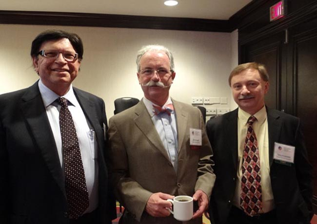 Terry Krotowski of Radius Financial, Pat Bolland and Lachman