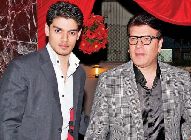 Aditya Pancholi with son Suraj (left) who was friends with Jiah Khan who committed suicide on June 2