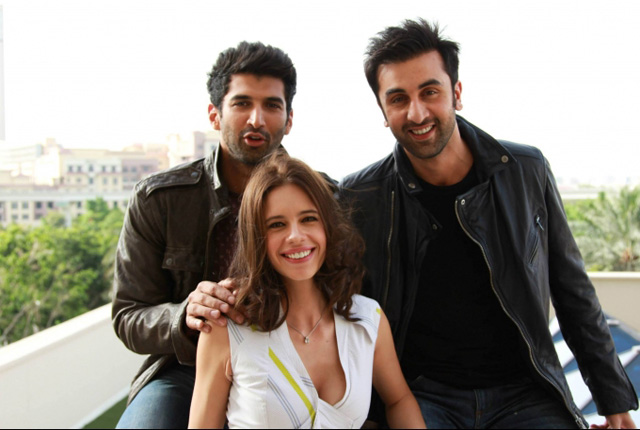 Aditya Roy Kapoor with Ranbir and Kalki in Yeh Jawaani Hai Deewani