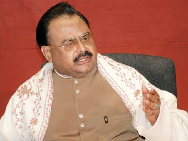 Titanic of the Muslim Ummah is sinking, says Altaf Hussain