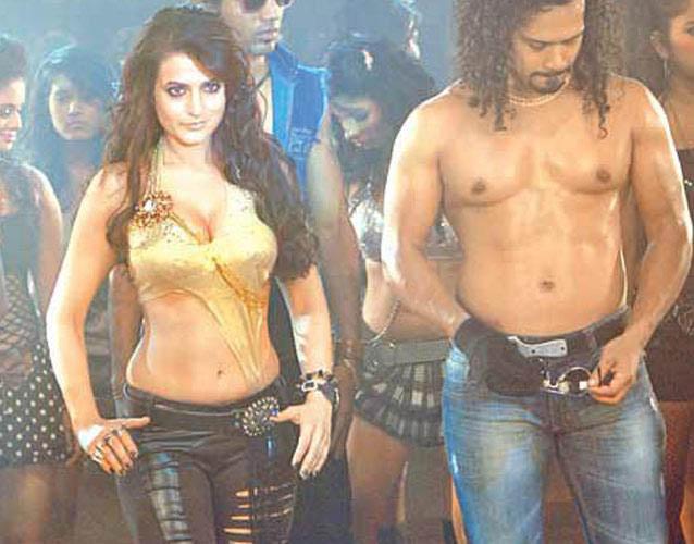 Amisha Patel in a scene