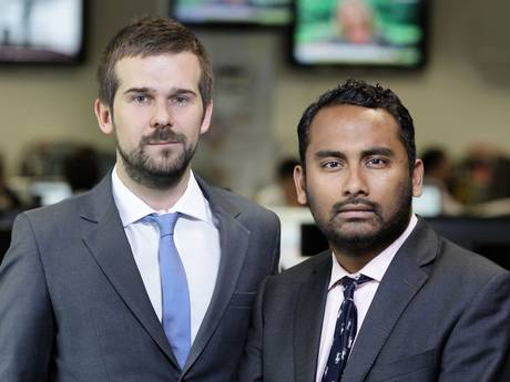 Amol Rajan (right) has been appointed editor of the Independent
