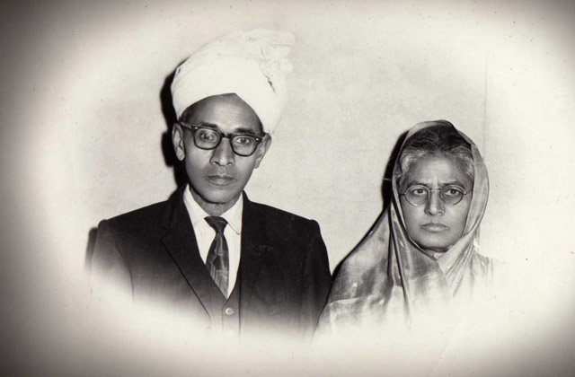 Ashok's father and mother