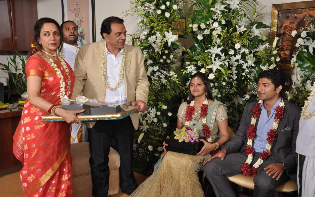 Hema Malini's younger daughter Ahana gets engaged