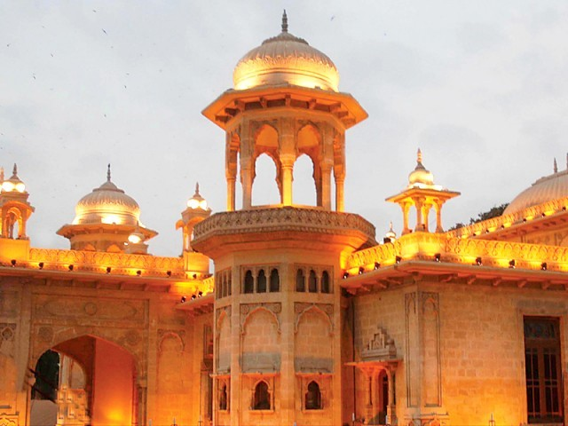 Hindu Gymkhana is one of the many Hindu properties and temples which have become victims of land-grabbing in Sindh, Pakistan.