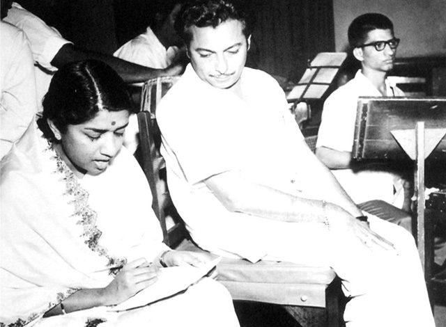 Lata with Madan Mohan