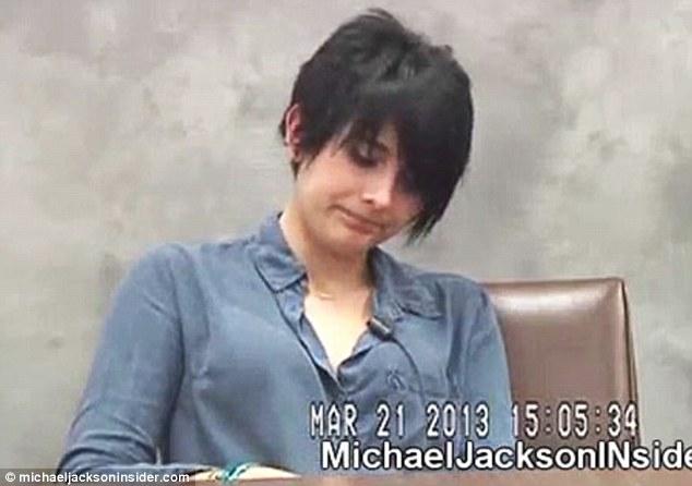 Michael Jackson's daughter Paris testifying