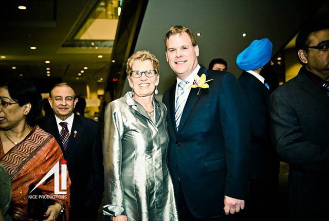 Ontario Premier Kathleen Wynne and Minister John Baird. Photo by Irfan Ali.