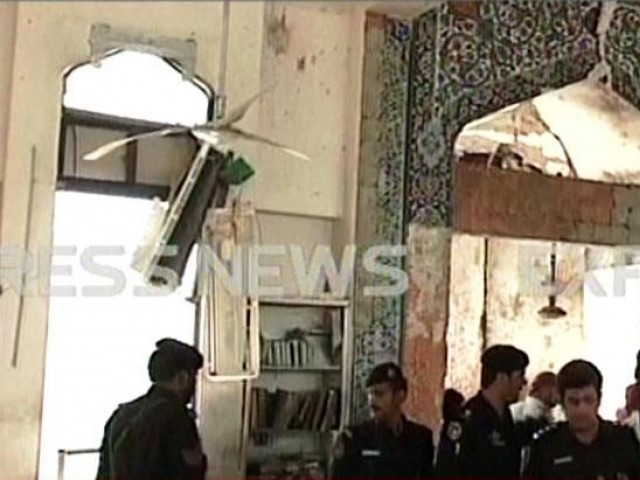 Peshawar madrassa destroyed by a suicide bomber