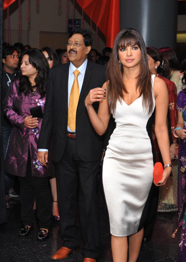 Daddy's girl - Priyanka Chopra was her father