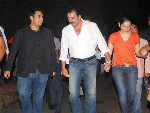 Sanjay Dutt and wife Maanayata