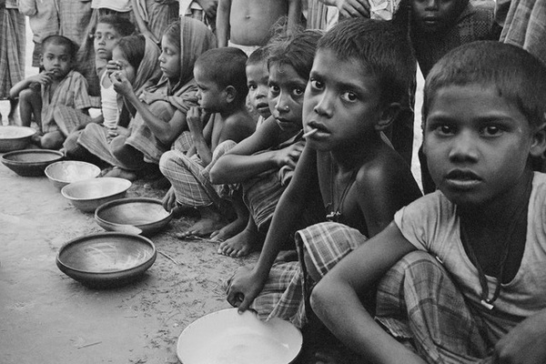 hungry children in india