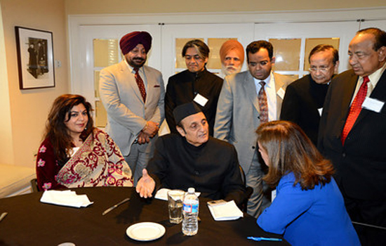 Dr Karan Singh in Washington DC