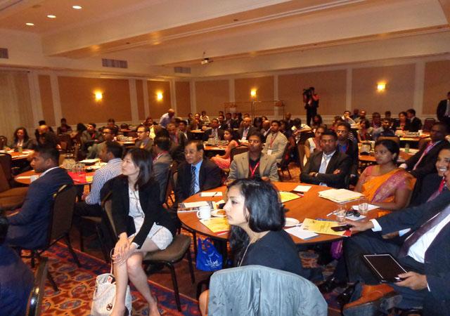 A business seminar