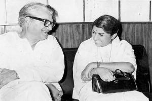 Kamal Amrohi with Lata