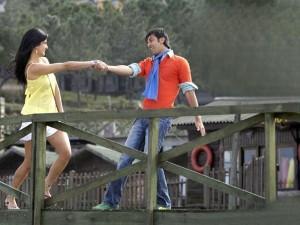 Katrina and Ranbir Kapoor