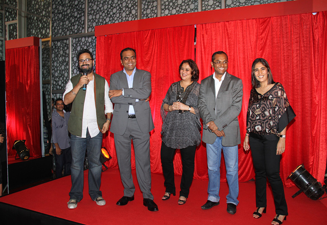 Producers of D Day ( L-R): Nikhil Advani, Arun Rangachari, Monisha Advani, Vivek Rangachari and Madhu Bhojwani