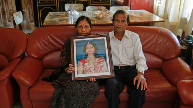 The parents of Savita