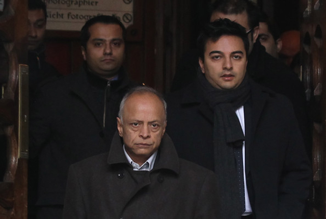 Prakash Dewani, father of the accused, during a court appearance for his son's bail in December 2010