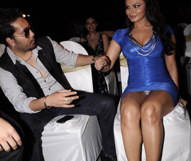 Rakhi Sawant with Mika Singh