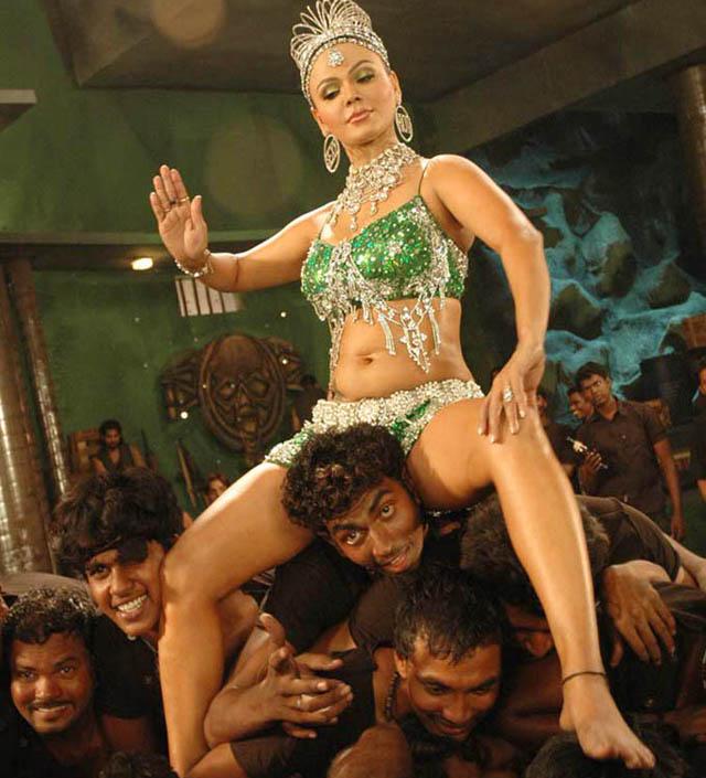 Rakhi Sawant in a show
