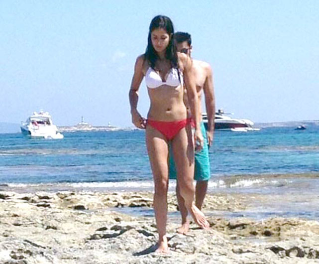 Ranbir, Katrina holiday picture