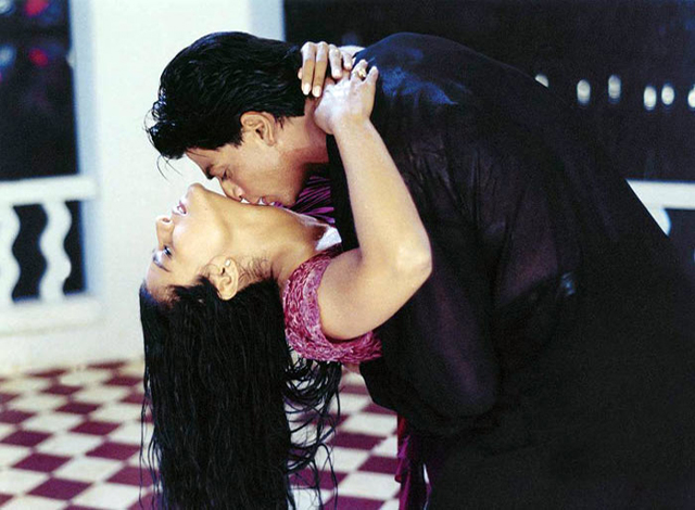 Shahrukh Khan and Kajol in Kuch Kuch Hota Hai