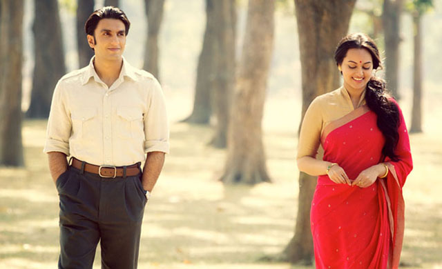 Sonakshi and Ranveer in Lootera