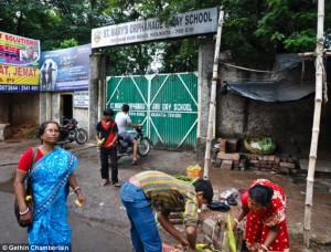 St Mary's Orphanage Day School in Calcutta which Badar Azim attended before moving to the UK.