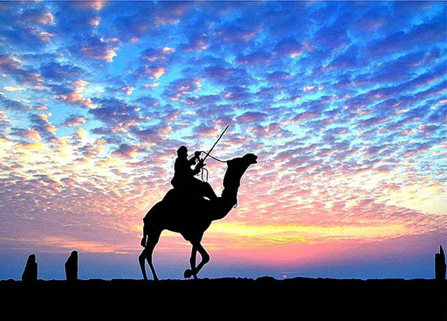Sunset at Jaisalmer India