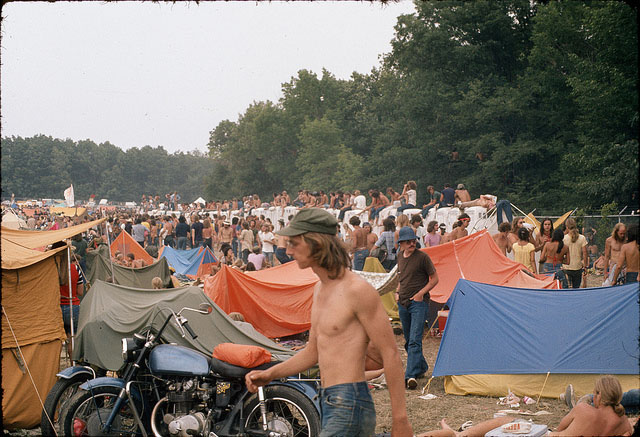Woodstock was still a fresh memory when the Summer Jam concert of 1973 took place.
