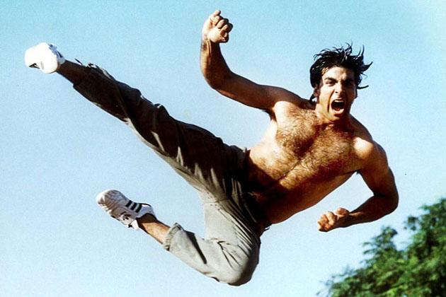 "AKSHAY KUMAR in the film "" Sabse bada khiladi ""."