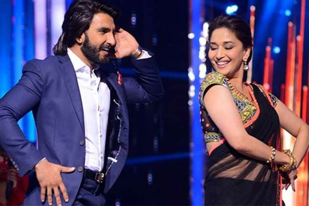 madhuri and ranveer