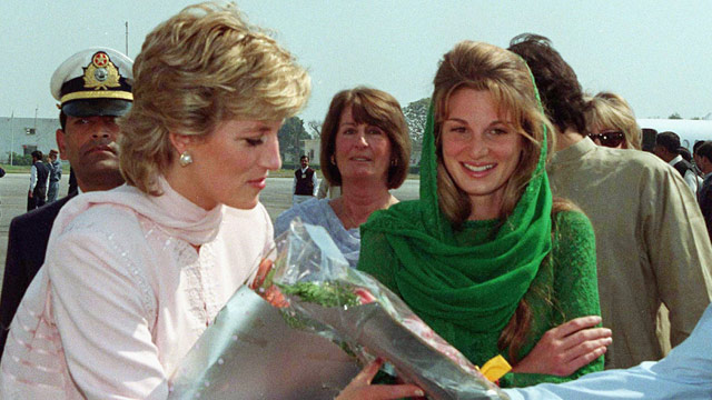 Princess Diana wanted to move to Pakistan, says Jemima Khan