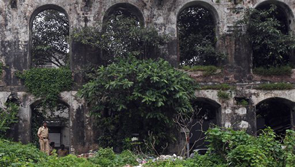 Abandoned Shakti Mills in south Mumbai where the gangrape took place